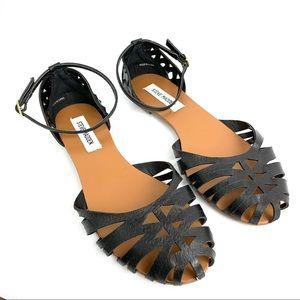 Steve Madden Womens Black Sandal Size 8.5 Tamera